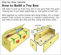 Build A Toy Box by Diy How To U0027s Tutorials Reference Books