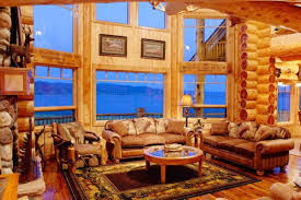 beautiful log home interiors images amazing interior home