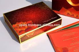 indian wedding card box indian wedding card with lotus view indian wedding invitation