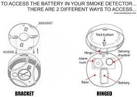 how to fix a smoke detector removeandreplace com