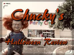 skeleton costume halloween city 2015 halloween chucky u0027s review party city youtube