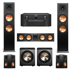 bic acoustech pl 89 home theater system klipsch bundle rp 280f rp 450c rp 250s 5 2 home theater