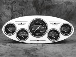 32 ford car billet aluminum gauge panel dash insert instrument