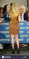 Anne Heche by Anne Heche Celebrities Outside The Ed Sullivan Theater For U0027the