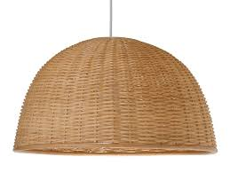 Wicker Pendant Light Kouboo 1 Light Wicker Pendant Light Reviews Wayfair