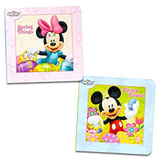easter mickey mouse disney mickey mouse and minnie mouse easter board book
