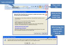 crashing powerpoint articulate presenter discussions e