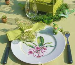 Flowers For Birds And Butterflies - table decorating ideas spring holiday decor with butterflies