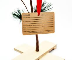 evidence tag christmas tree ornament u2013 neurons not included