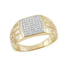 gents ring finger buy sightly diamond finger ring jpearls