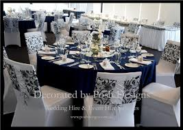 navy blue table linens navy blue table cloths for hire nice pinterest weddings