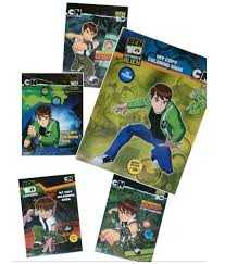 ben 10 coloring books sticker bazaar set of 5 ben 10 ultimate alien coloring book buy