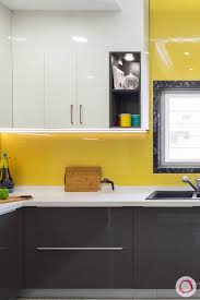 lacquered glass kitchen cabinets from 6 gorgeous backsplash options