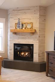 wood look ceramic tile corner fireplace reno reno pinterest