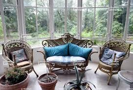 meuble en rotin pour veranda 7 hebdo exotique et design
