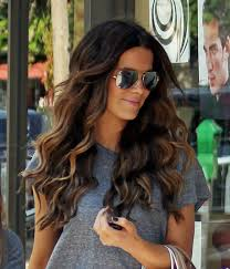 does hair look like ombre when highlights growing out petiscos kate beckinsale deep waver and beach waves