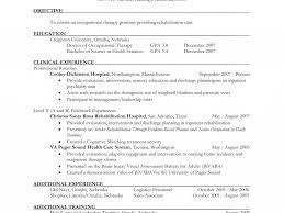 Respiratory Therapist Student Resume Sample Occupational Therapy Resume Resume Samples And Resume Help