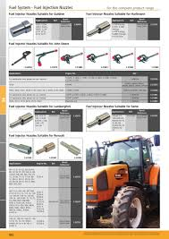 tractor parts volume 1 fuel system page 934 sparex parts lists