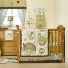 Unisex Crib Bedding Sets Unisex Baby Crib Bedding Green And Brown Neutral Baby Crib