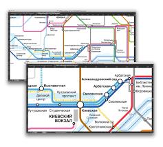 Metro Moscow Map Pdf by Moscow Subway Scheme Experiment U2014 Polina Chemeris
