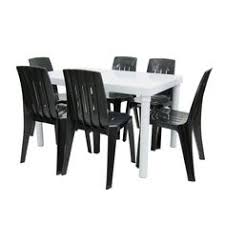 plastic table with chairs 2401 square table table top 609 6 mm 24 in available heights