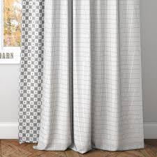 3d emery linen cotton drape pottery barn cgtrader