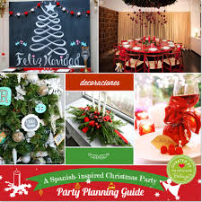 a spanish inspired christmas party guide