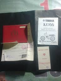 buku manual yamaha rxz