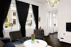 Living Room Ideas With Black Furniture White And Black Living Room Sustainablepals Org