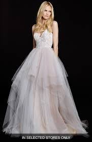 hayley bridal hayley nicoletta floral sequin bodice tiered tulle gown