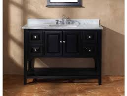 find and save inch black bathroom vanity white carrara marble top
