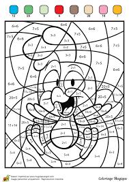 coloriage magique pour apprendre l u0027addition à ses enfants avec un