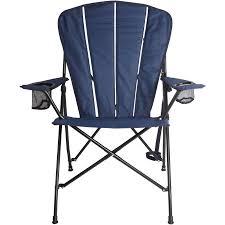 Adarondak Chair Ozark Trail Deluxe Adirondack Chair Navy Walmart Com