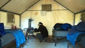 tent cabin tuolumne meadows lodge in yosemite national park my yosemite park