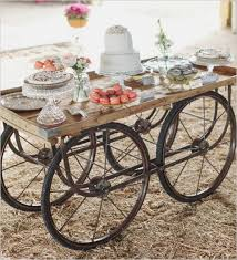 Wagon Wheel Coffee Table Picture Of Wagon Wheel Decor Addition For Candy Bar