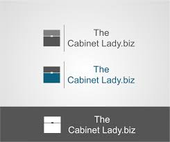 playful personable logo design for the cabinet lady ehr