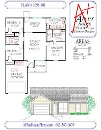 houseplans com a plus house plans plan 1098 101