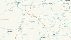 Kentucky Map With Cities Interstate 24 Wikipedia