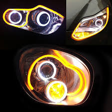 Amber Led Strip Lights by 12 Inch Flexible Led Neon Lights Strip Lights Torchstar