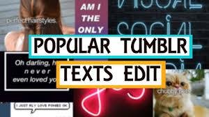 tumblr wallpaper maker popular tumblr texts edit youtube