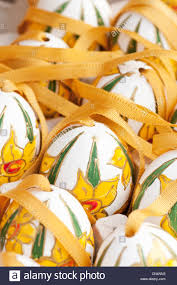 decorated egg shells painted and decorated egg shells to celebrate easter at
