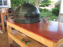 Green Egg Table by Big Green Egg Table Pine And Cedar By Robert Nease