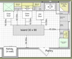kitchen island space requirements kitchen layouts with island 10k kitchen remodel island design