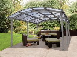Backyard Garage Ideas by Very Interesting Carport Canopy For Your Exterior Home Ideas