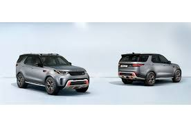 tan land rover discovery first look u2014 land rover discovery svx makes official debut