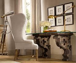 Diy Glass Desk I Found A Desk But This One Is Prettier Corbel Glass Desk