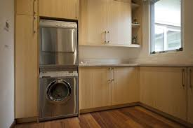design ideas chic laundry room with dark wood laundry room