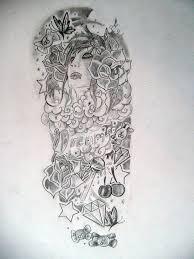 100 rose half sleeve tattoo designs roses and sugar skull