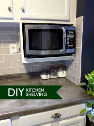 kitchen microwave ideas microwave shelves shelves ideas