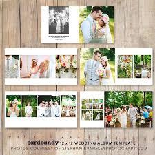 wedding album photobooktemplate12x12 stationery templates